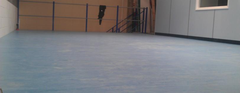 Poly floor